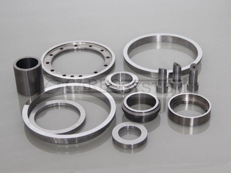 piezas de tungsteno