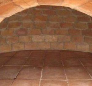 Interior Horno Ladrillo