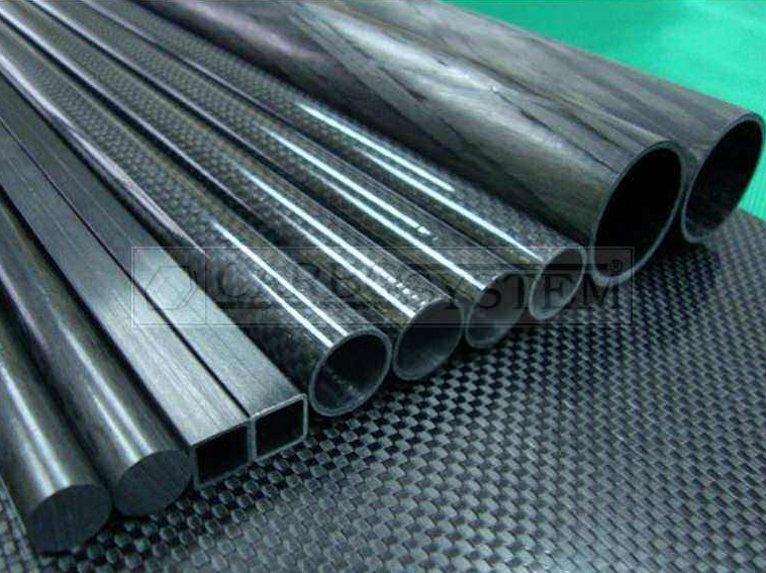 Fibra de carbono, fabricación de piezas de fibra carbono