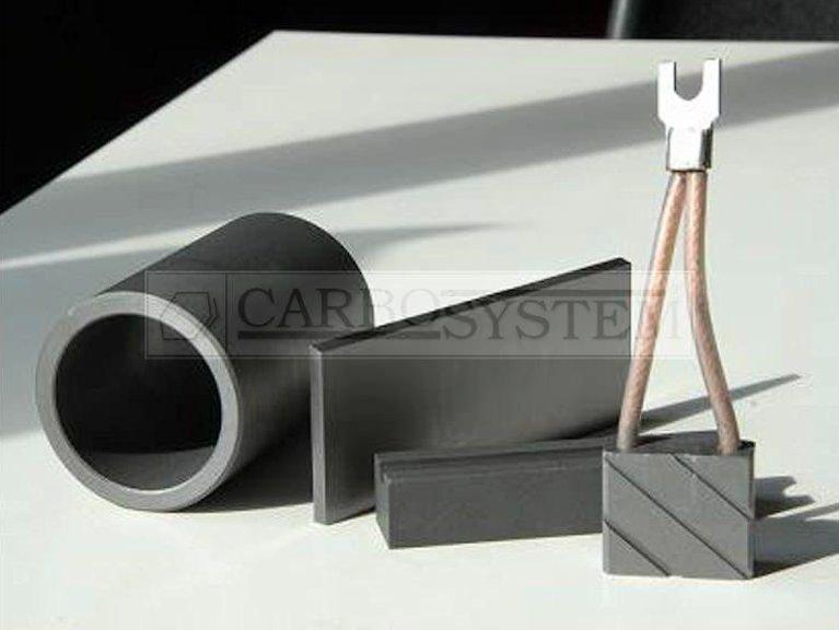 Piezas de grafito y carbon-grafito